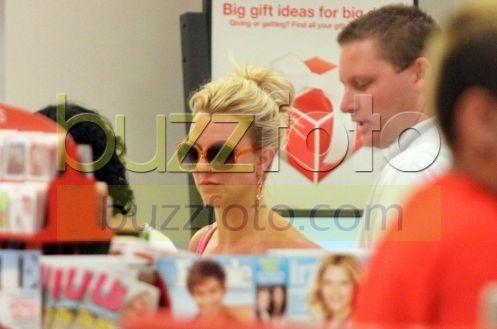 Britney Spears,pausa bagno e si cambia d'abito 8