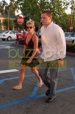 Britney Spears,pausa bagno e si cambia d'abito