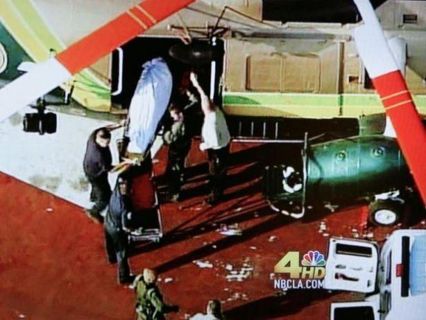 Michael jackson morto trasportato in elisoccorso