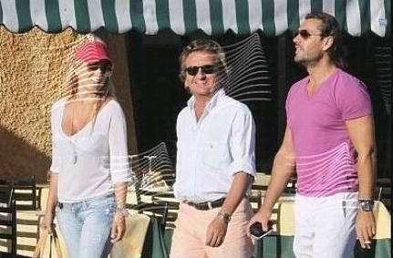 Rossano Rubicondi e Milu Vimo a Portofino ospiti di Maurizio Raggio (Foto Gossipblog)