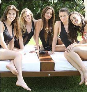 Alcune miss a Jesolo_Miss Italia