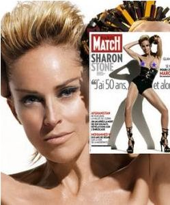 Sharon Stone © Paris Match