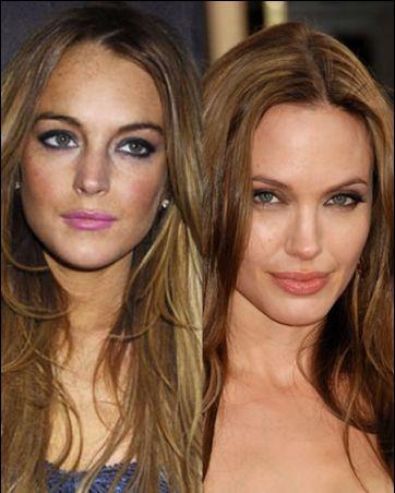 Lindsay Lohan_Angelina Jolie